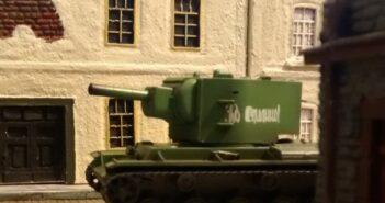 Panzerbär: drei Szenarien mit dem KV-2 als Hero