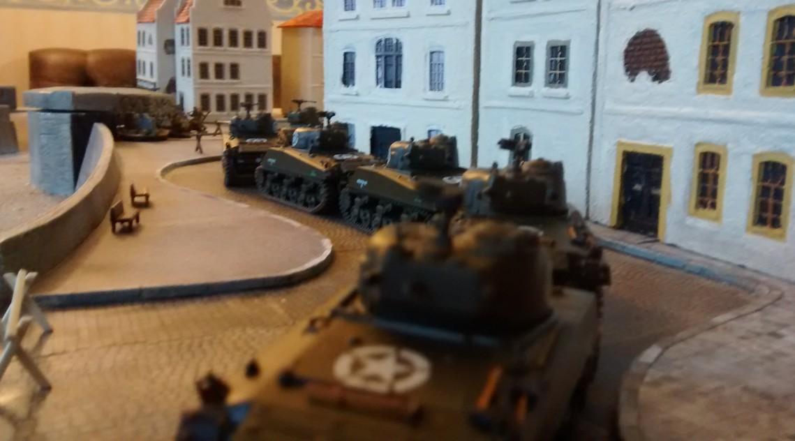 02.01.2016: 1. Spiel am 4. BO-Spieltag: Sherman-Jagd in Saint-Aubin-Sur-Mer Sherman-jagd-03