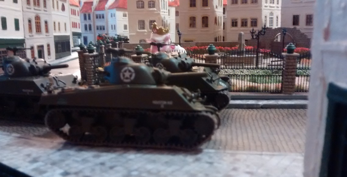 02.01.2016: 1. Spiel am 4. BO-Spieltag: Sherman-Jagd in Saint-Aubin-Sur-Mer Sherman-jagd-51