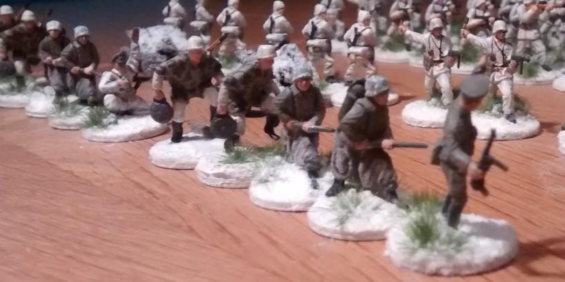 Die 12. Pionier-Kompanie, hier vorne mit dem ersten der beiden 5er-Trupps.