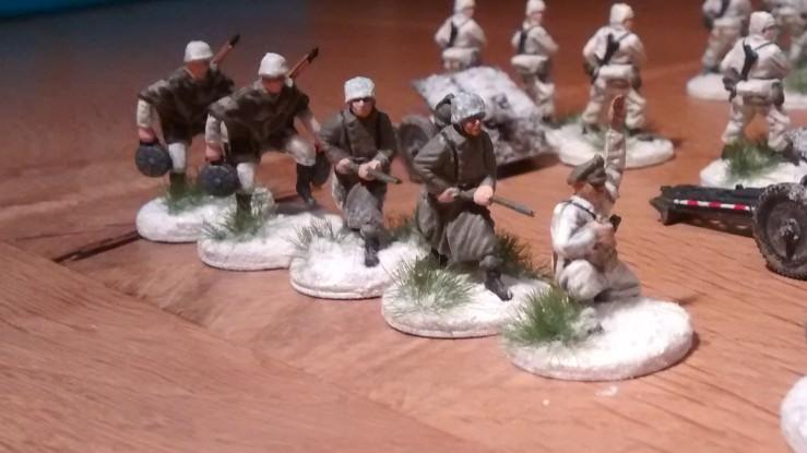 Der zweite 5er-Trupp der 12. Pionier-Kompanie.