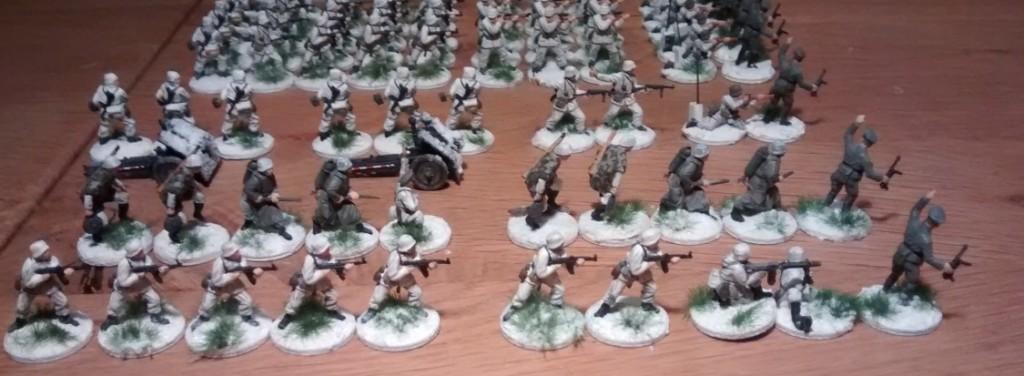 Die Stabs-Kompanie des Schützen-Regiment 103