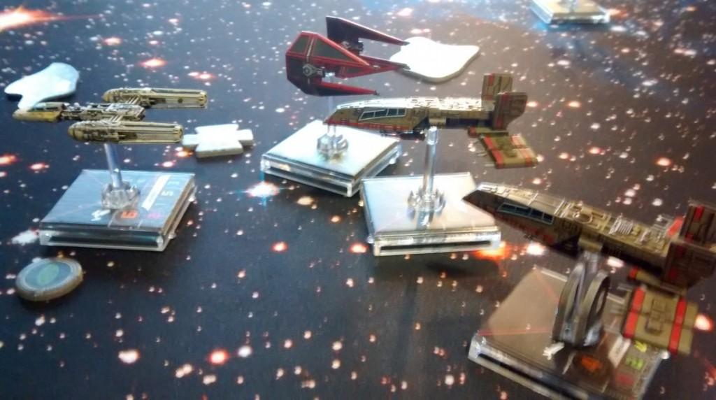 X-Wing: wilde Kurbeleien in der Galaxie.