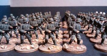 Speedpainting #1: So zwo 10er-Trupps für meine BO-Armee