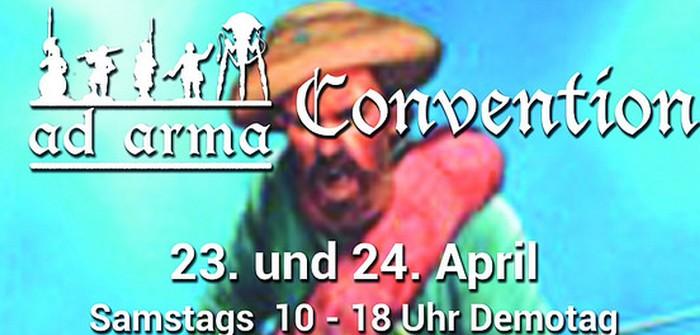 1. Ad Arma Con in Speyer, 23. - 24. April 2016