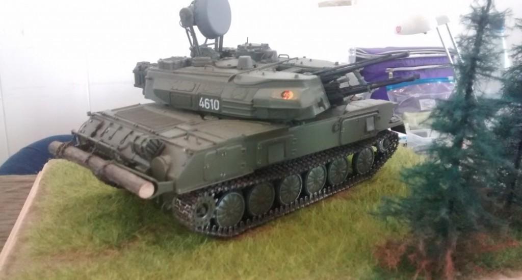Der Shilka ZSU 23-4W1 kommt ebenfalls ins NVA-Forum. Er hat so bisle was von der SU-122.