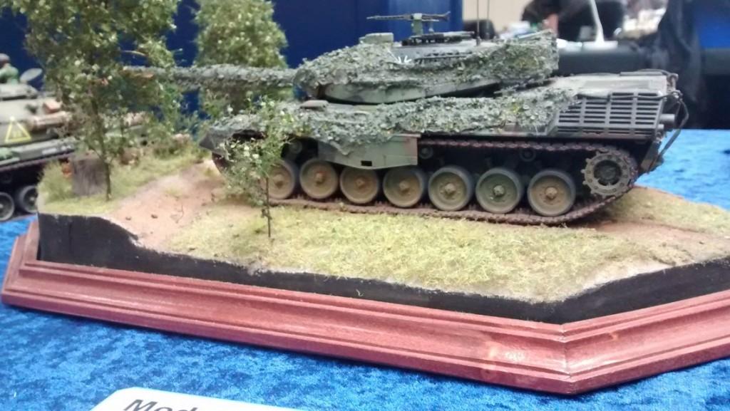 Kampfpanzer Leopard im Manöver-Einsatz