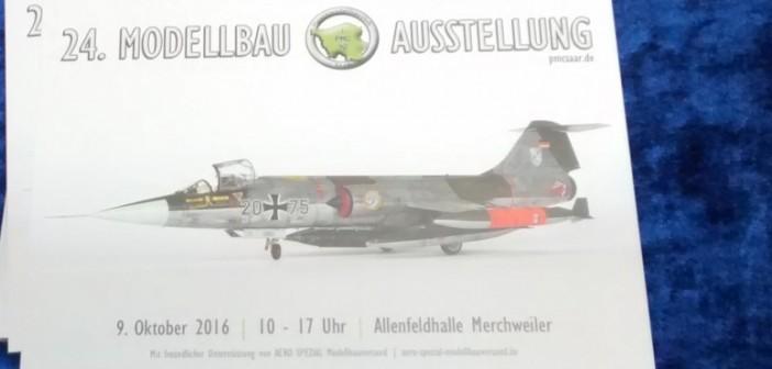 Auch die 24. Modellbau-Ausstellung des PMC Saar in der  Allenfeldhalle in Merchweiler wird angekündigt.