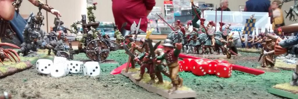 Die Warhammer-Figuren der Rhine-Toppers. Warhammer 40K und Warhammer Fantasy ( WHFB / WHF )