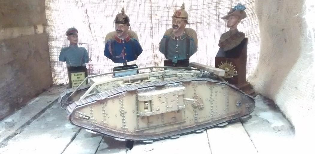 Reminiszenz an den Ersten Weltkrieg