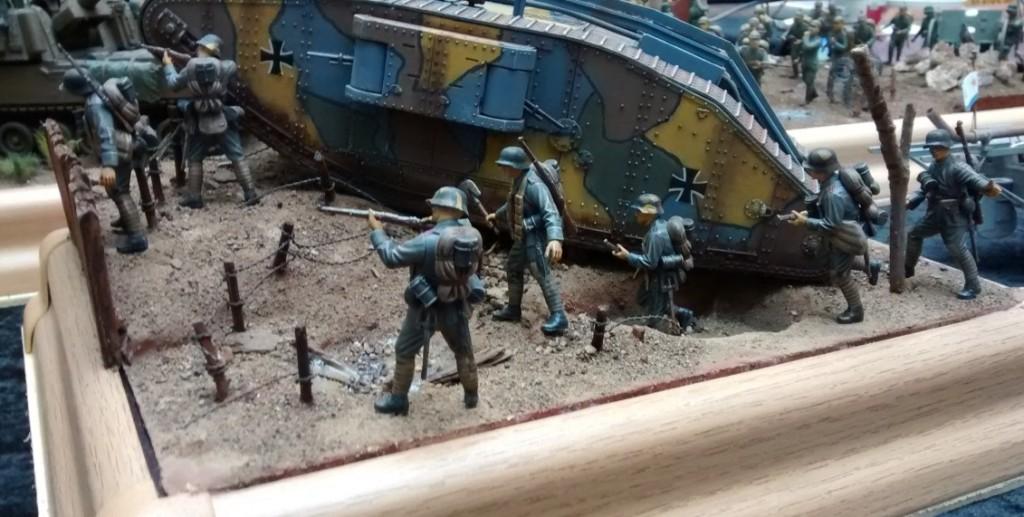 Ein britischer Tank in deutschen Diensten