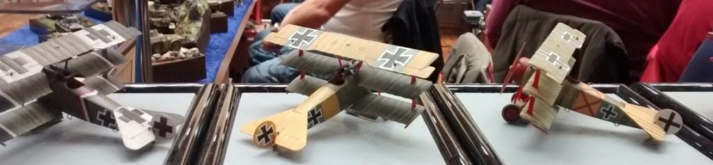Fokker DR-I berühmter Piloten