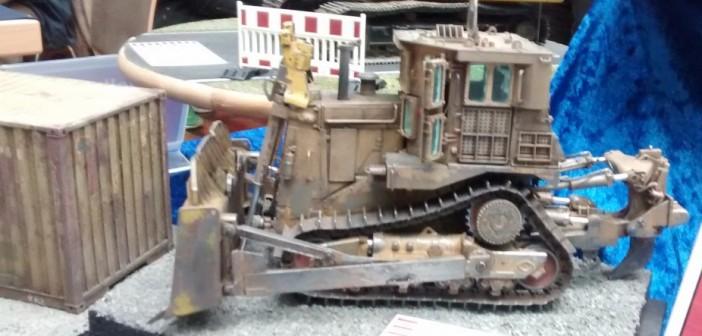 D98 gepanzerter Bulldozer von Meng