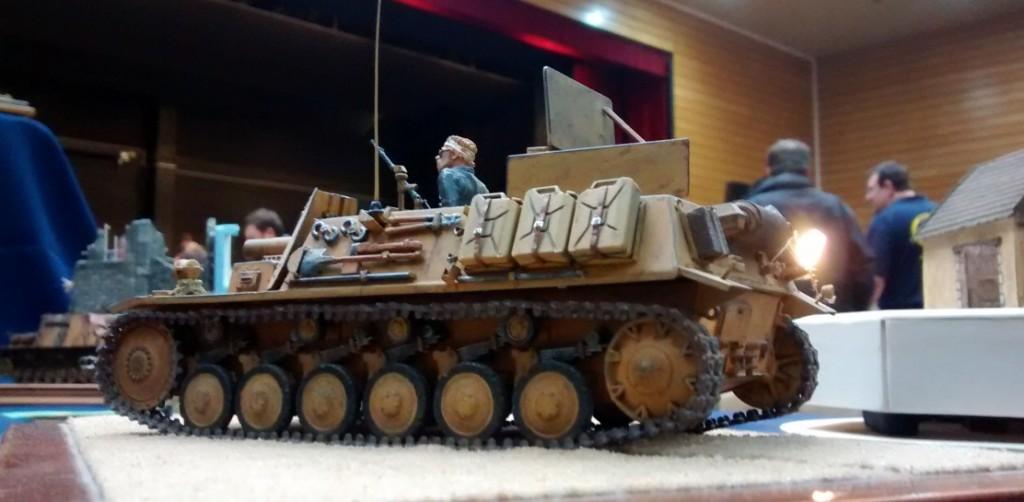 15 cm sIG 33 auf Fahrgestell Panzerkampfwagen II (Sf), Sturmpanzer II Bison