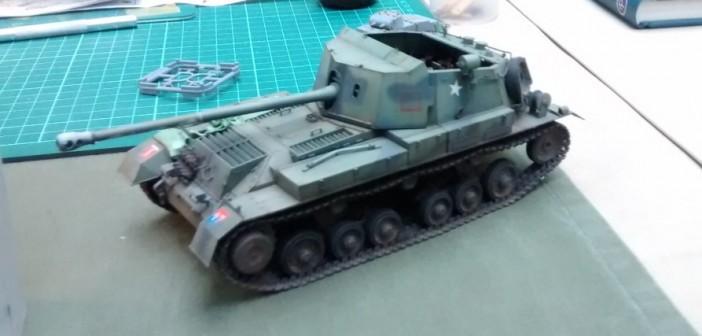 Auch von Moveleo: ein britischer Jagdpanzer Archer SP 17 auf Basis des Fahrgestells des Valentine.