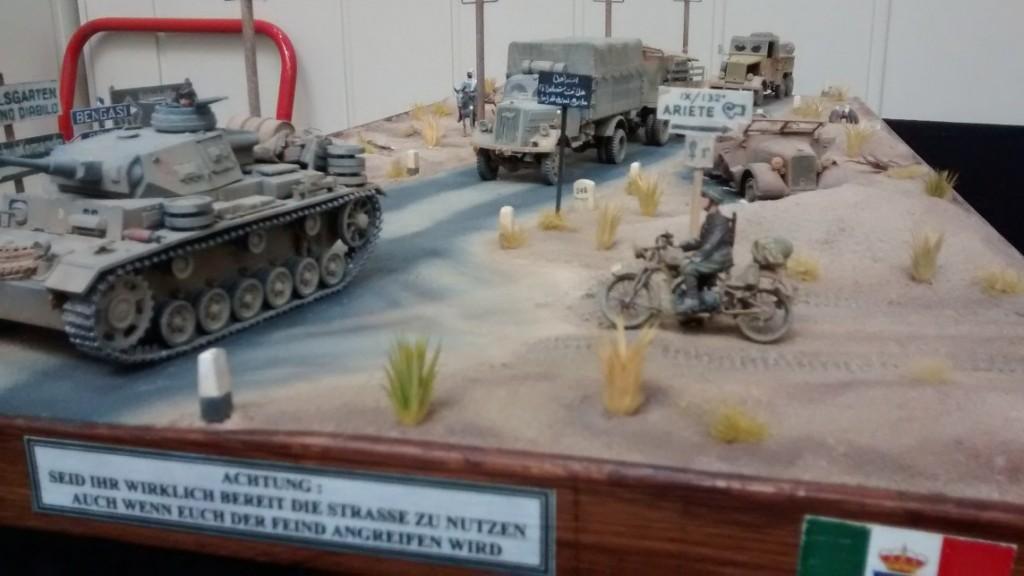 Wüstenszene bei Bengasi