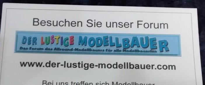 Der lustige Modellbauer