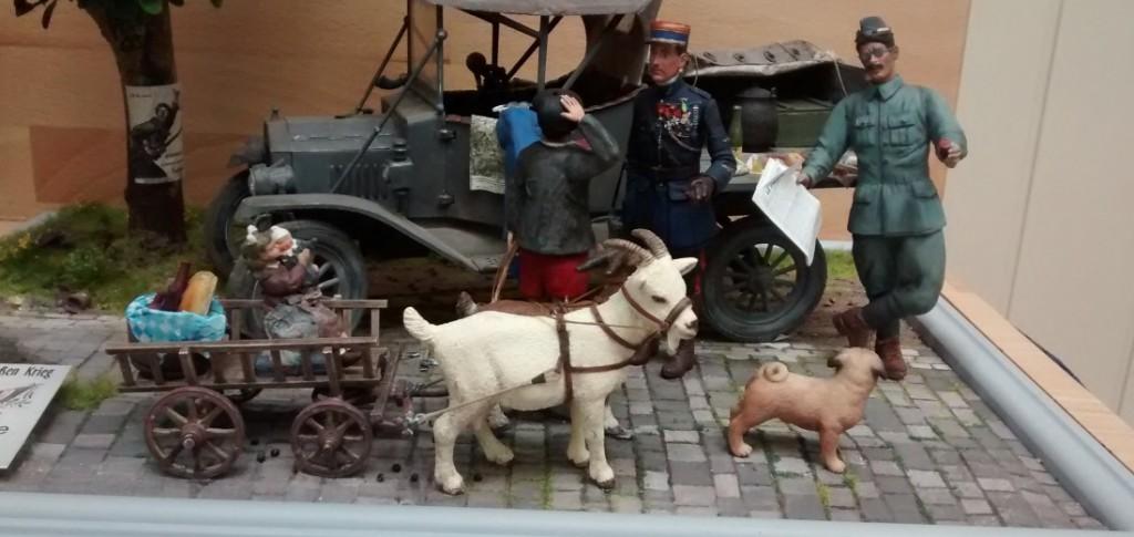 Straßenszene Erster Weltkrieg