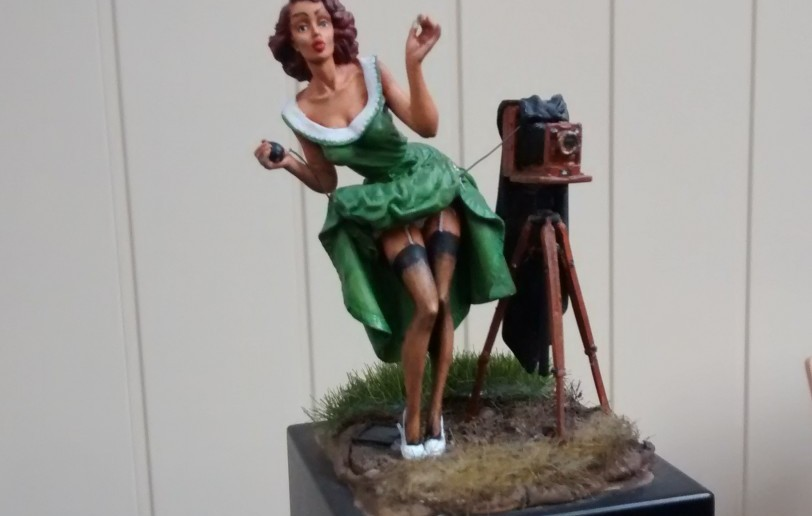 Arbeiten eines Figurenmodellbauers