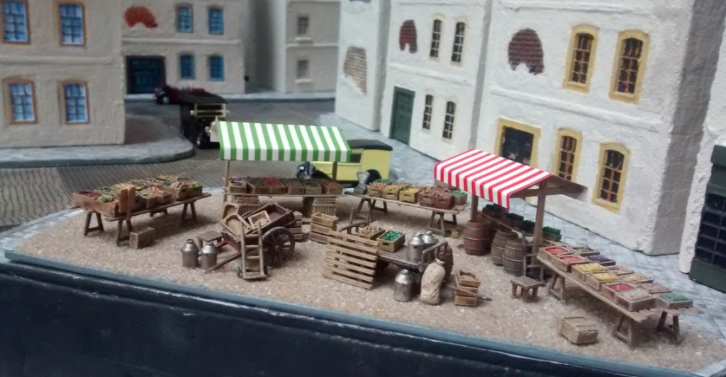 Le marché des legumes im Hafenviertel