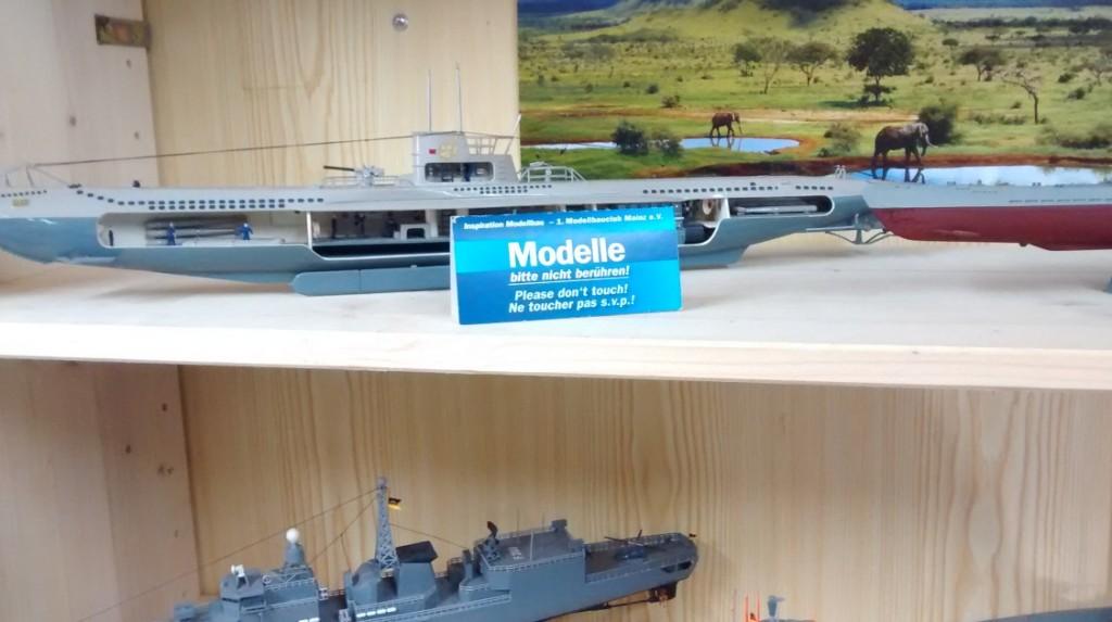 Ständige Modellbau-Ausstellung des 1. Modellbauclub Mainz.