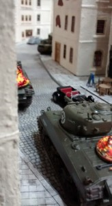 Shermanjagd: Enge Gassen bergen Überraschungen