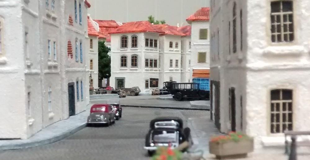 Das Stadtzentrum von Saint-Aubin-Sur-Mer