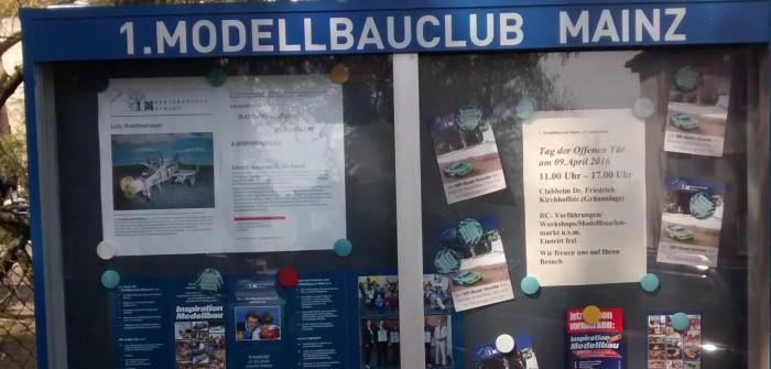 Tag der offenen Tür beim 1. Modellbauclub Mainz e.V.