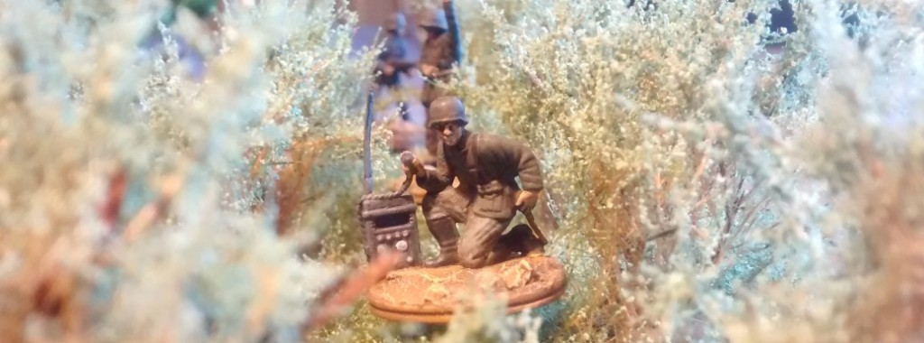 Der Trupp-Funker der 1./Granatwerfer-Bataillon 5