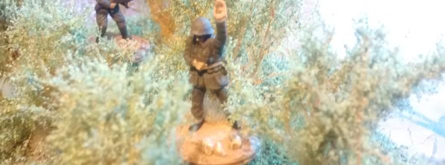 Der Offizier der 1./Granatwerfer-Bataillon 5