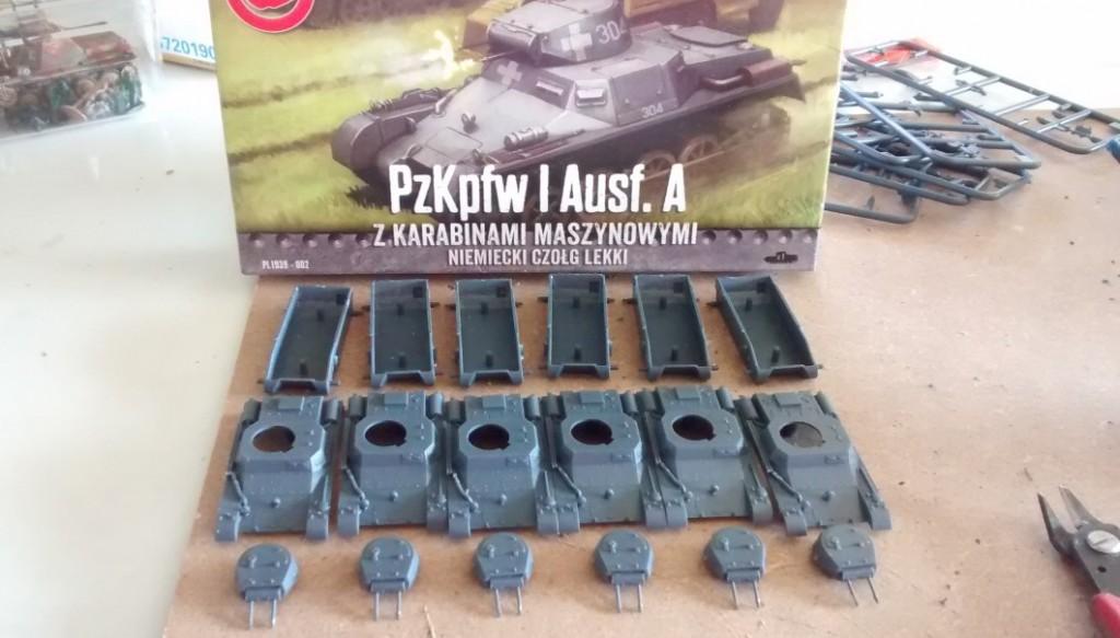 First to Fight: Panzerkampfwagen Ia (PzKpfw Ia, Panzer-Ia, Sd.Kfz.101)