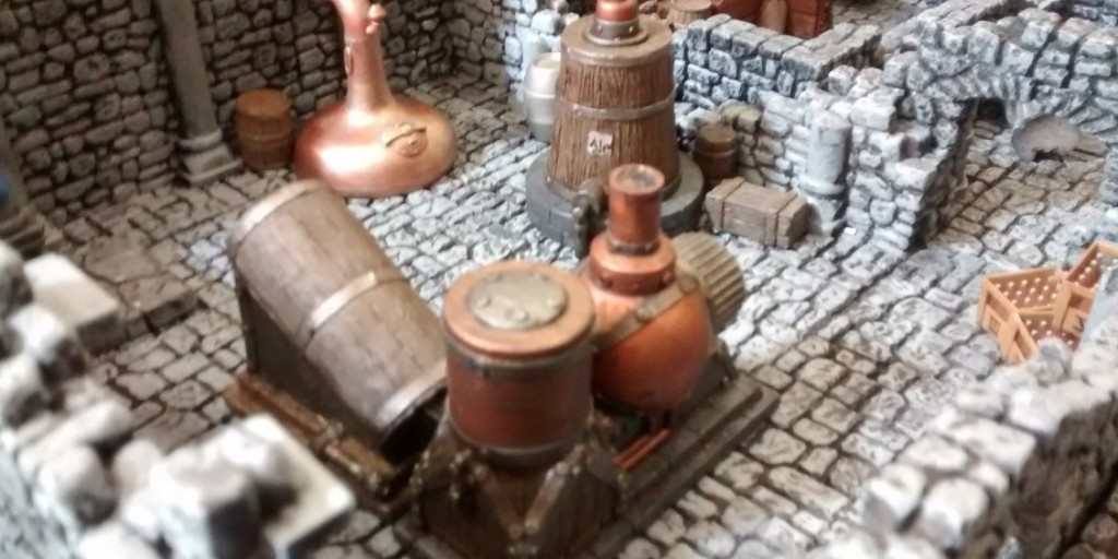 Frost Grave   thaw of the lich lord - boiling and pumping engines - and some handy beer