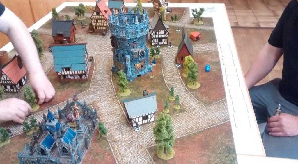 Frost Grave: das Spielfeld