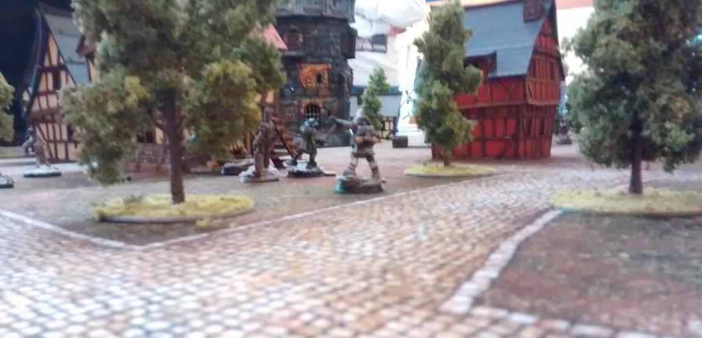 Frost Grave: den runden Turm kennt man aus einem anderen Game.
