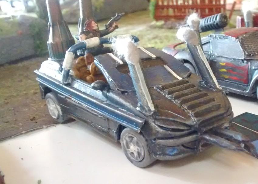 """Pedal to da Metal: der """"Halloweeners"""" - ein Cabrio"""