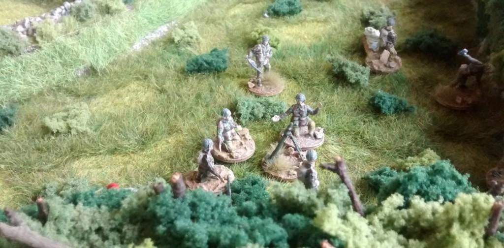 Mit den fünf 3-Inch-Mortars können die britsichen Fallies schon ganz schön Power entfalten.