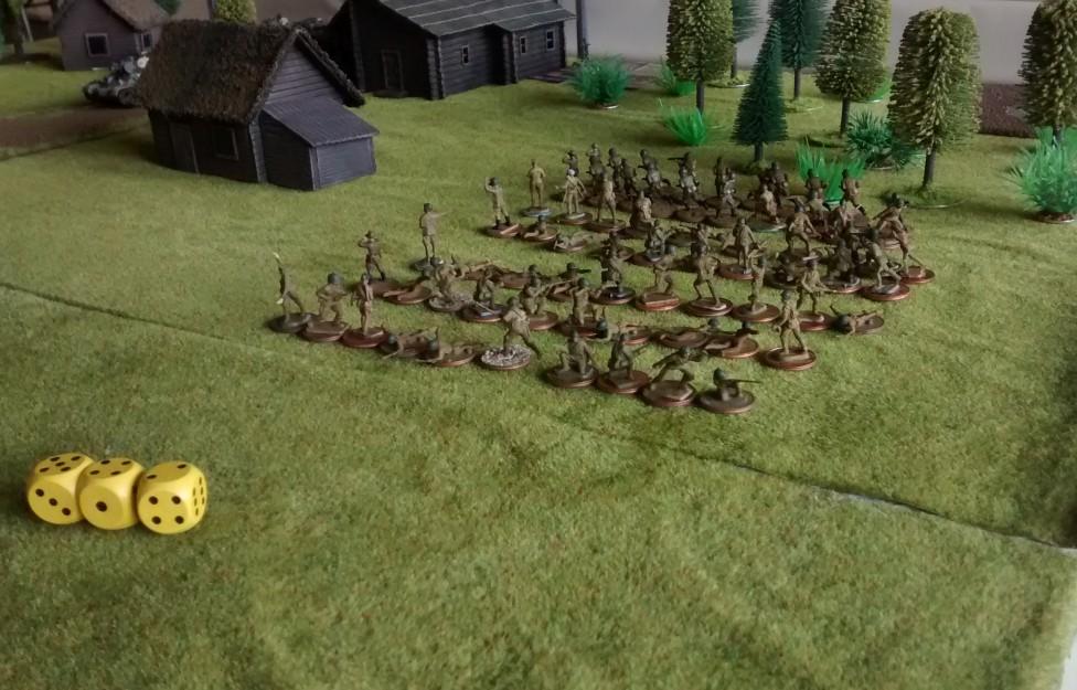 """Der dritte Angriffskeil befindet sich auf dem seitlichen """"L"""" der Prochorowka-Platte. Er hat den weitesten Weg zur deutschen Stellung vor sich."""