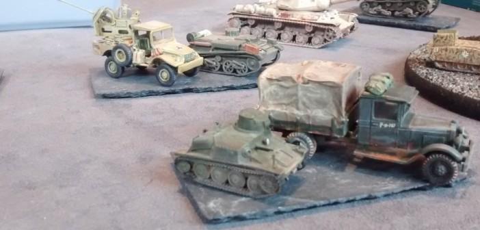 Beutefahrzeuge der Wehrmacht: eine Sammlung von Tanketten und Lkws