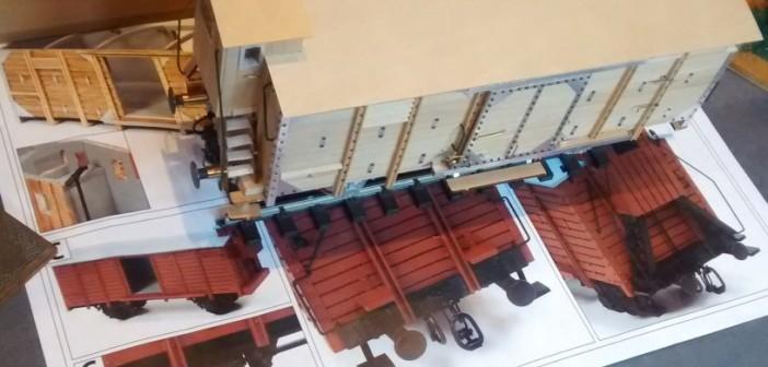 Gedeckte Güterwagen der Verbandsbauart A2