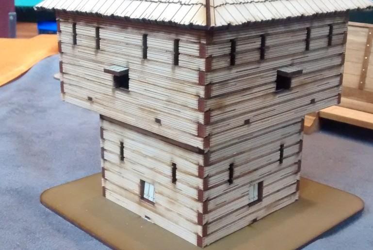 Dieser römische Wachtturm wirkt sehr ungewöhnlich.
