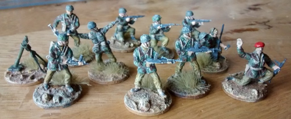 Das Rote Barrett des Offiziers
