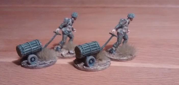 Zwei Trolley M9A2  bzw. M18 sind ebenfalls entstanden.