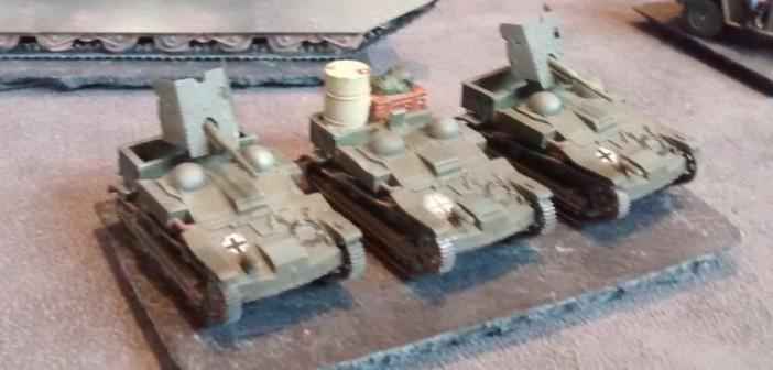 Umbauten der Wehrmacht: die recht vielseitige Renault UI Chenilette