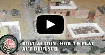 Bolt Action: How To Play Video auf deutsch (german)