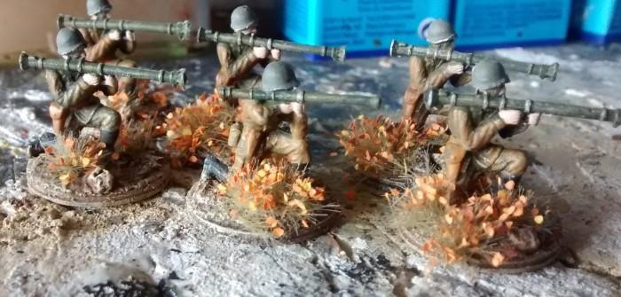 Fastpainting #4: Hautpartien, Helmriemen, Mortars ... Russen