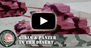 Girls & Panzer: in the desert