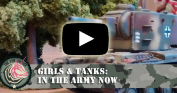 Video Girls & Tanks: In the Army now