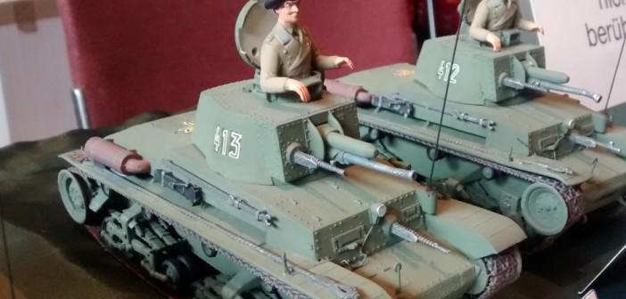 Der Panzer LT-38 der rumänischen Armee aus dem Jahr 1938.