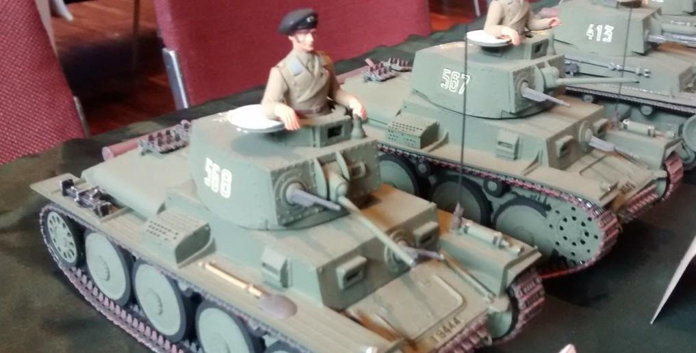 Der Panzer R-2 der Armee Rumäniens aus dem Jahr 1936.