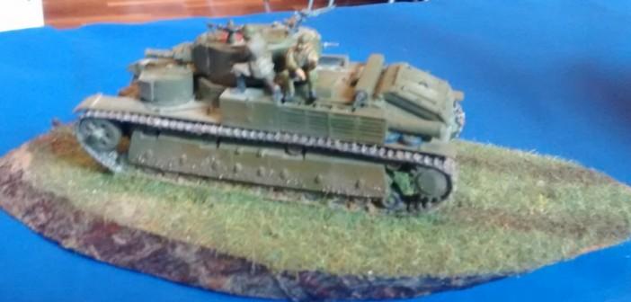 Russischer Kampfpanzer T-35